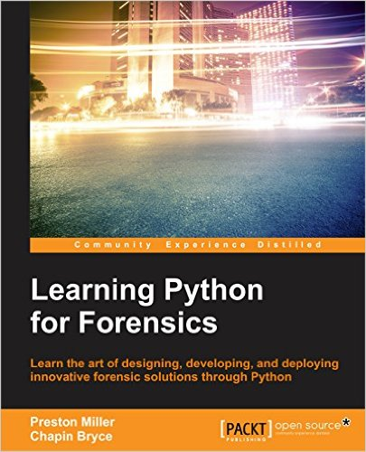 Learn Python for Forensics
